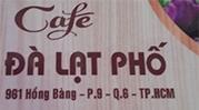 Cafe Đà Lạt Phố
