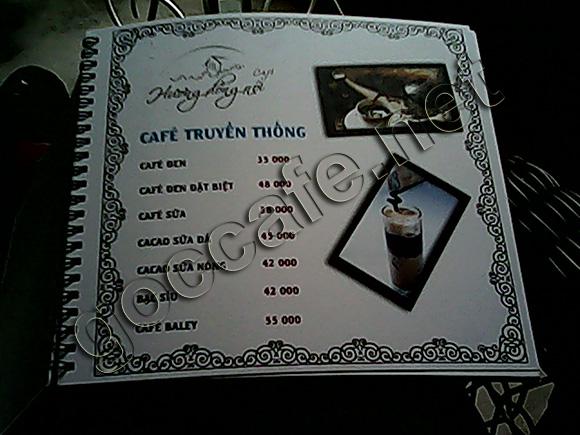 Cafe huong dong noi au co