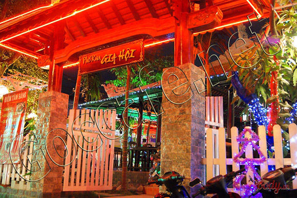 cafe phố xưa gia hội